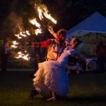 Medieval Themed Fire Circus Act
